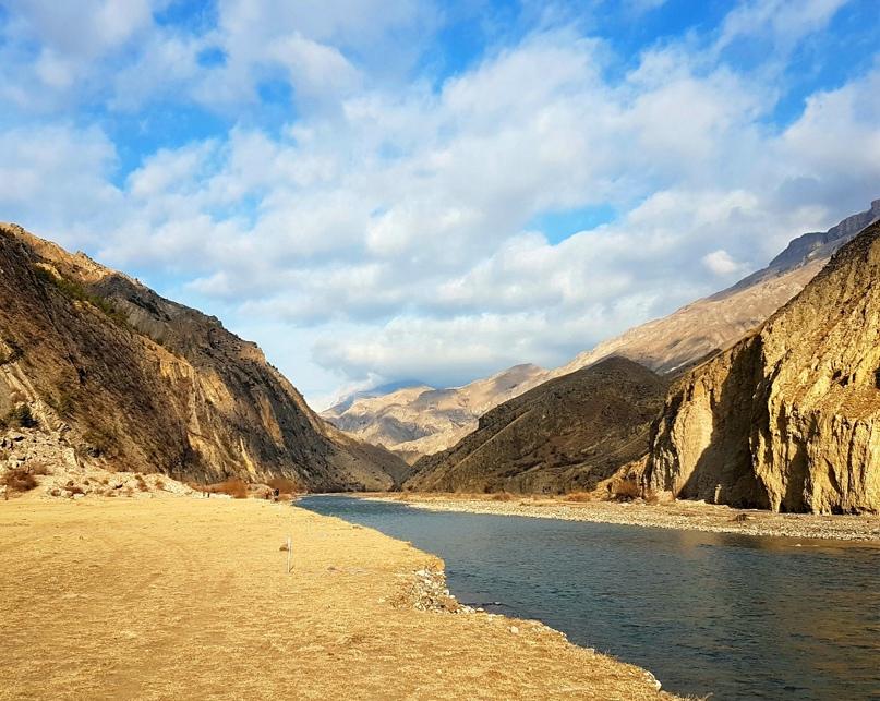 Река Аварское Койсу. Здесь будем соревноваться