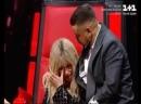 Я знаю, что так нельзя Надя Дорофеева на Голос країни расплакалась в прямом эфире.
