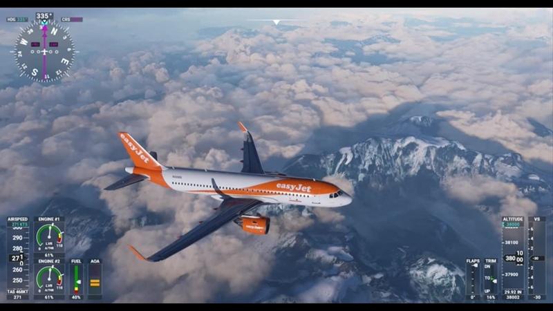 Microsoft Flight Simulator - Кавказ над Миниральными водами