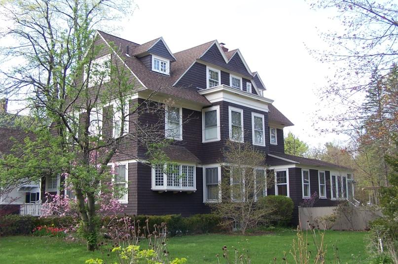 Дом в стиле Shingle, Скенектади, Нью-Йорк