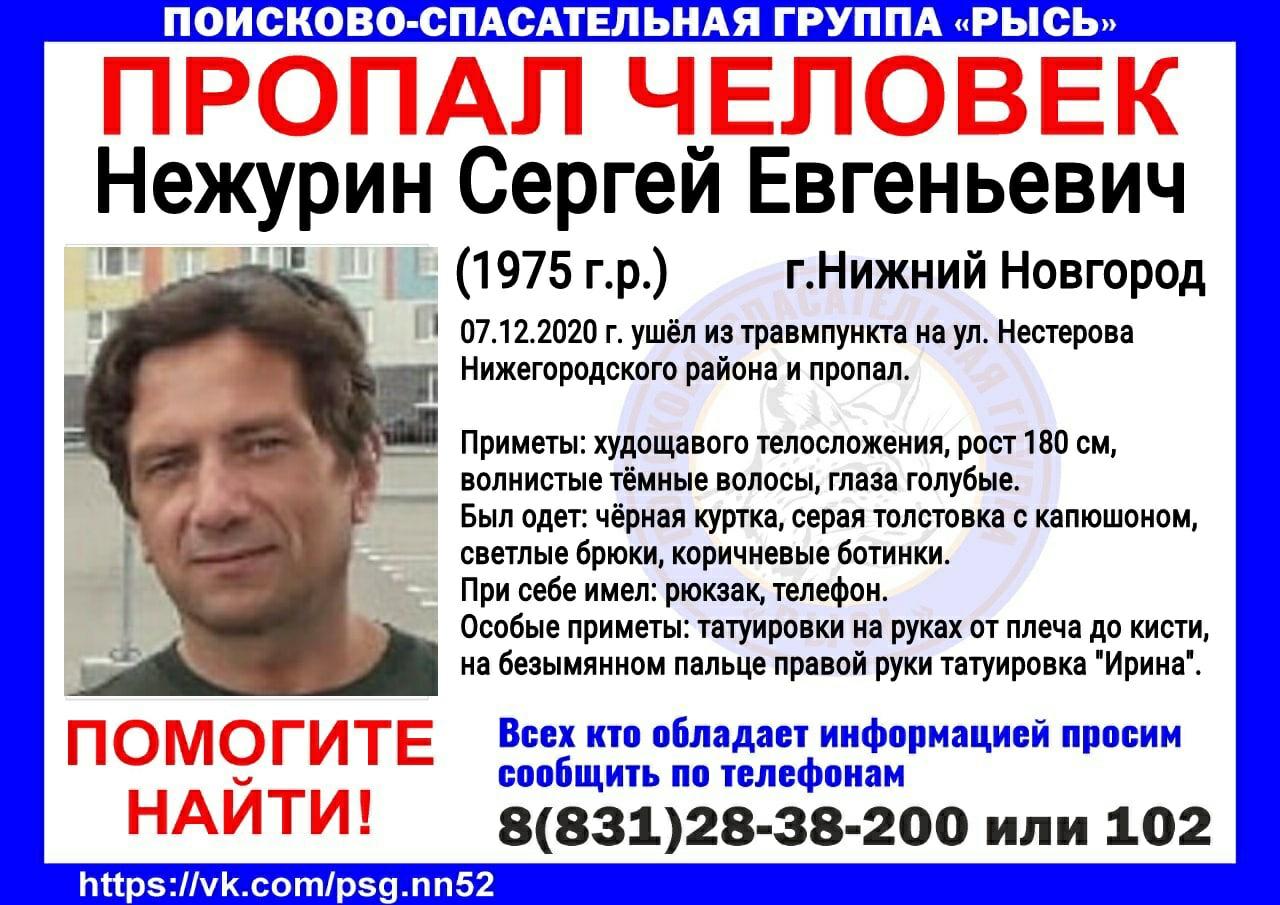 Нежурин Сергей Евгеньевич