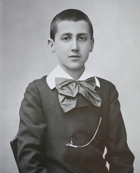 Марсель Пруст в детстве