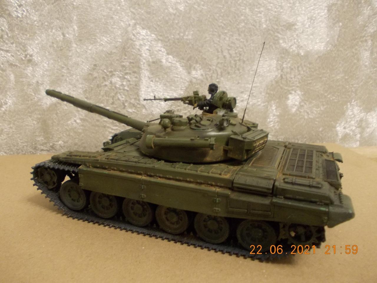 """Т-72А, 1/35, фирма """"Звезда"""", кат.№3552 XGSMMR3dA8M"""