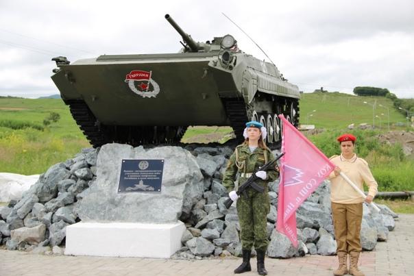 Памятник открыли в Приморье. Казаки Партизанского ...