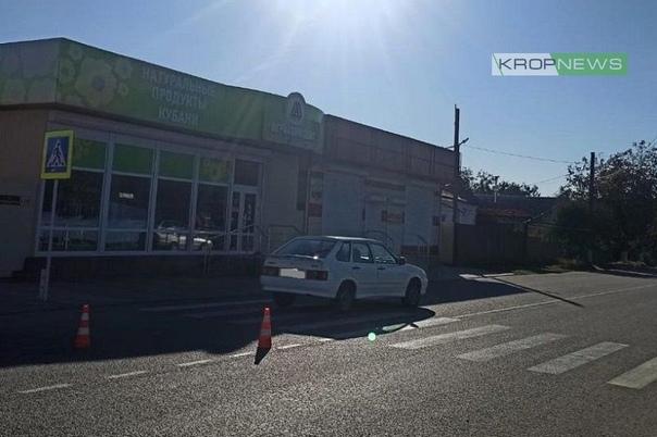 В Кропоткине водитель на ВАЗе сбил 12-летнего маль...