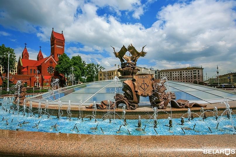 В Минске завершается сезон работы фонтанов