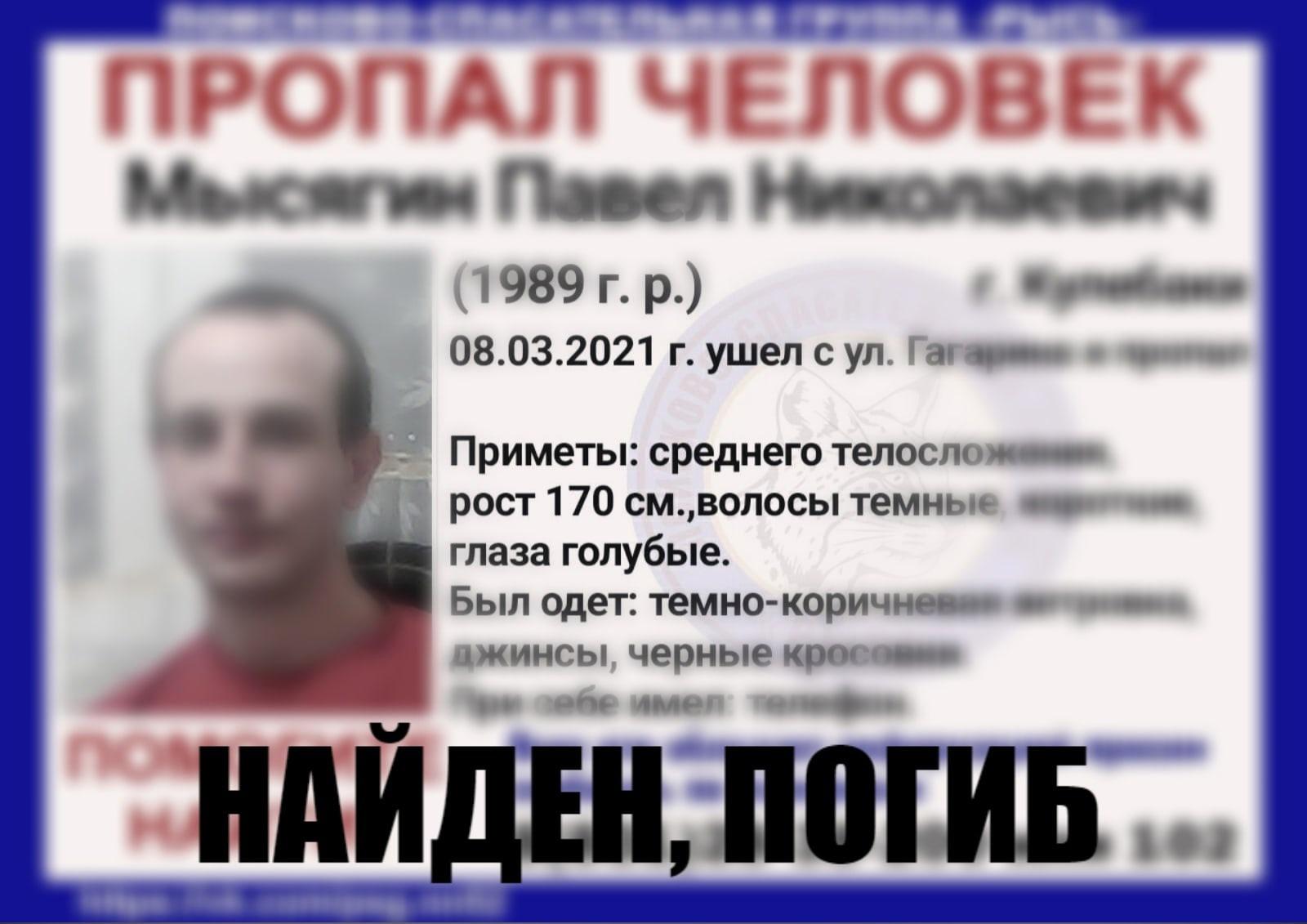 Мысягин Павел Николаевич
