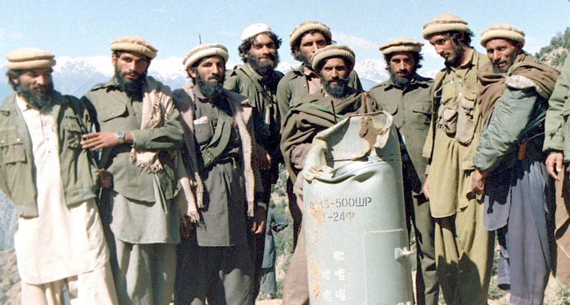 Душманы в Афгане