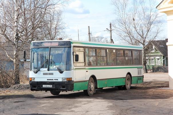 ИКАРУС 415  Фото 2016 г. Посёлок Тёсово-Нетыльский Новгородской области.