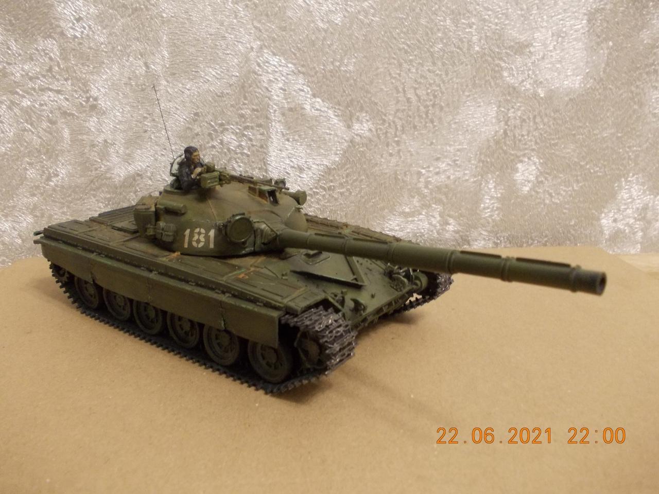 """Т-72А, 1/35, фирма """"Звезда"""", кат.№3552 YOhrRh9pl2c"""