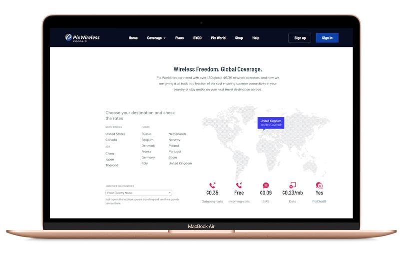 Кейс: PixWireless — связь, работающая по всему миру, изображение №8