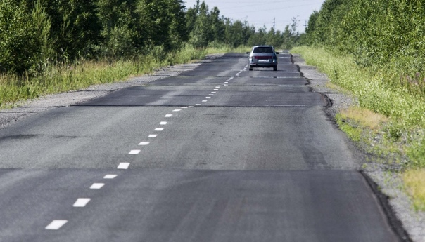 На автодороге «Тюмень – Ханты-Мансийск» совсем ско...
