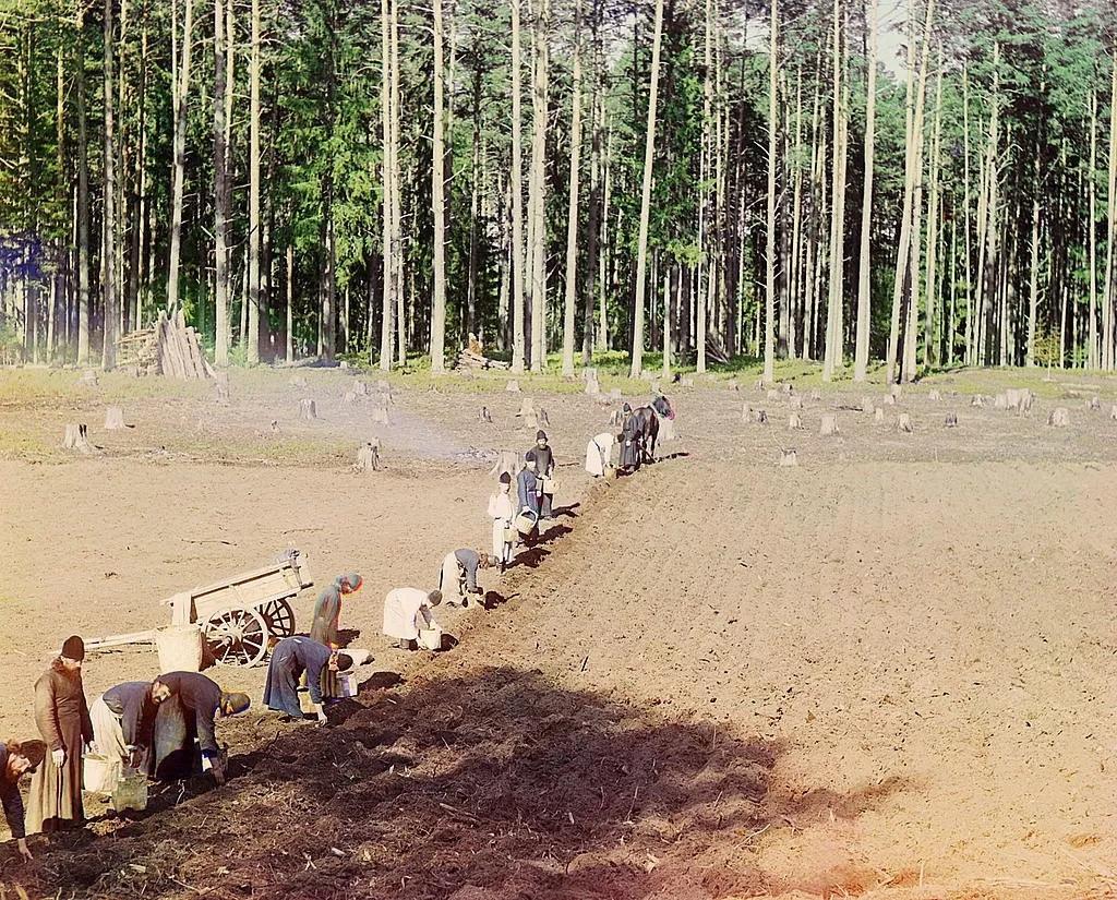 Редчайшие цветные фотографии Российской империи начала XX века GTOKdPWHYIU