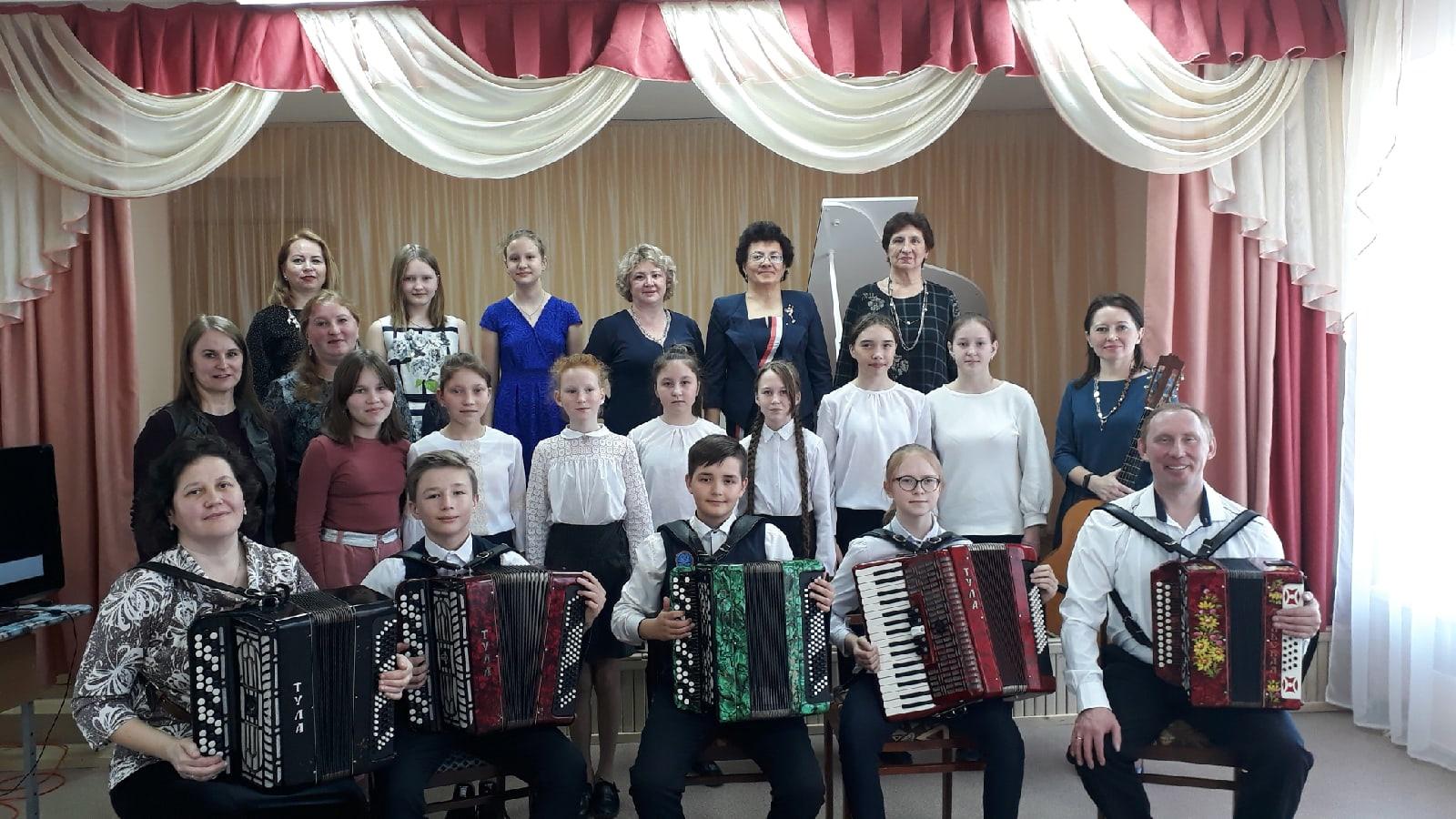 16 апреля Большеучинская детская школа искусств