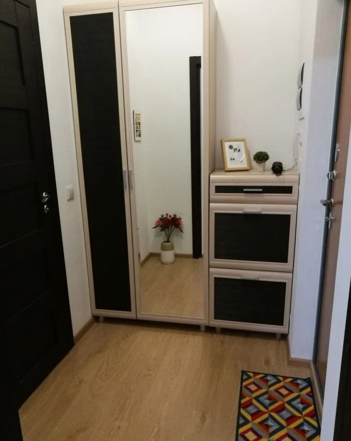 Бюджетный интерьер квартиры-студии 24 кв.