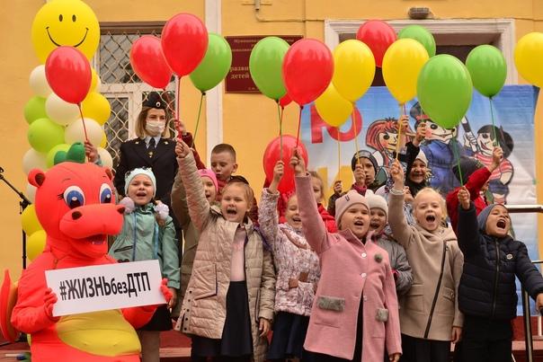 Отделом ГИБДД ОМВД России по городскому округу Луховицы и ЦРТДиЮ, при участии молодежного центра «Юнимакс»