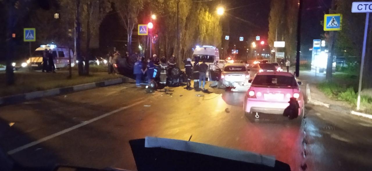 авария на улице Сергея Акимова в Нижнем Новгороде