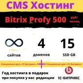 """Хостинг для «1С-Битрикс» Тариф """"Bitrix Profy"""""""