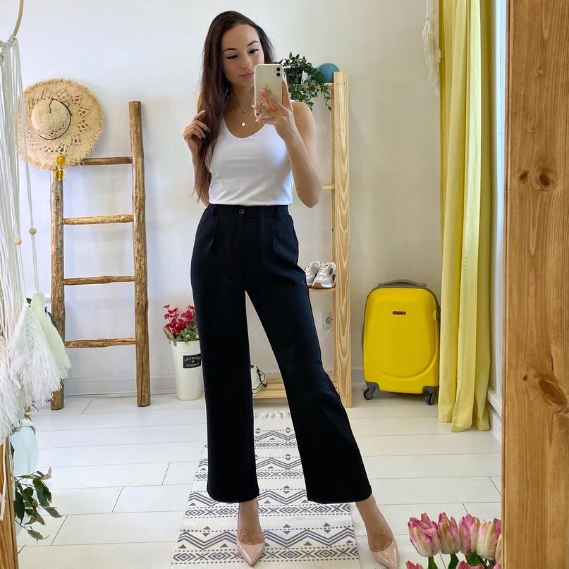 Классные прямые брюки