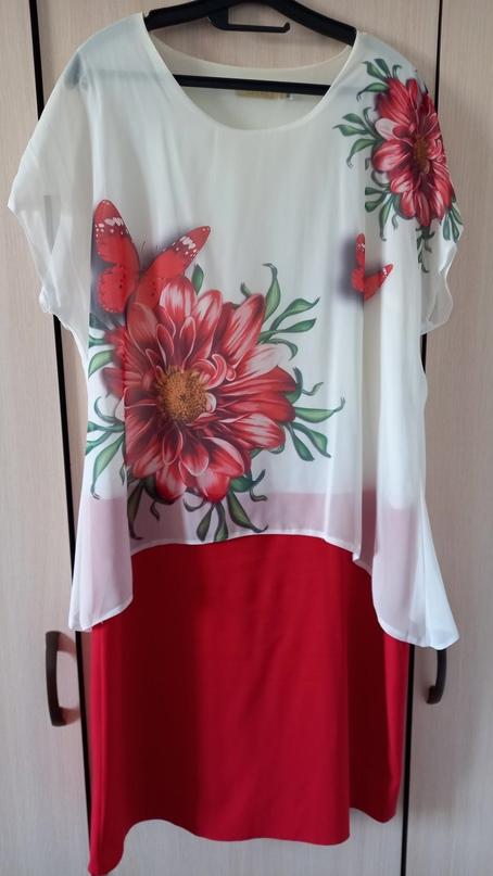 Купить комбинированное платье в | Объявления Орска и Новотроицка №27953