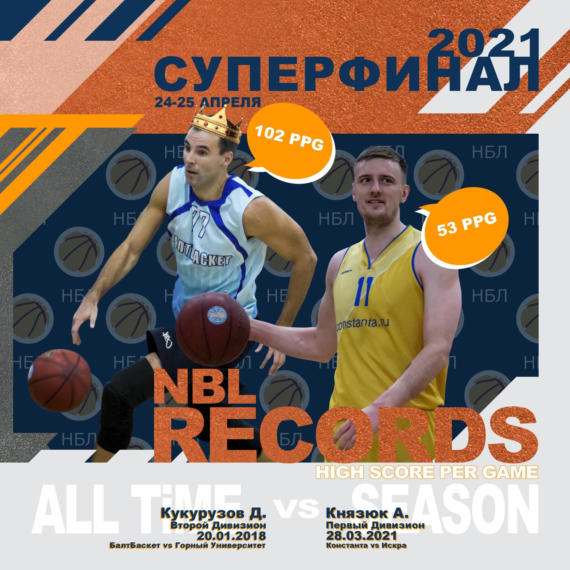 Александр Князюк ставит новый рекорд сезона