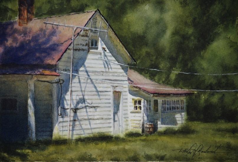 Американский художник-акварелист. Robert McFarland, изображение №39