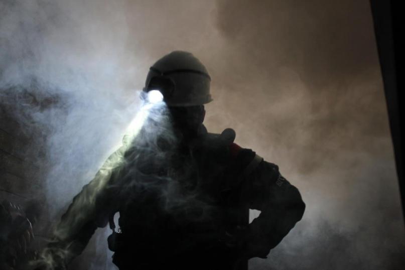 В новостройке на набережной Архангельска горел продуктовый магазин