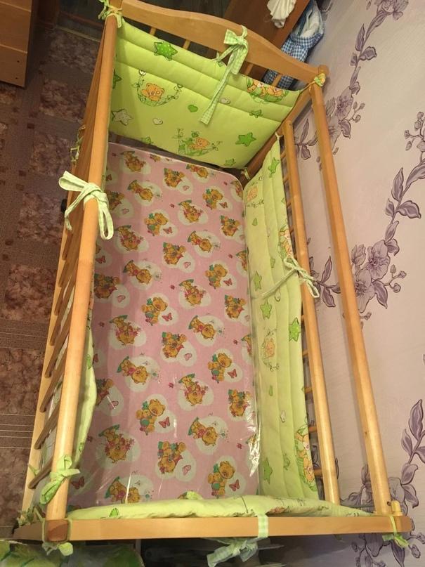Кровать детская простая в сборе +матрас | Объявления Орска и Новотроицка №17894