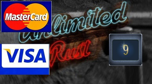 Rust UNLIMITED account 9 Year Badge 5 LVL (pay by card)