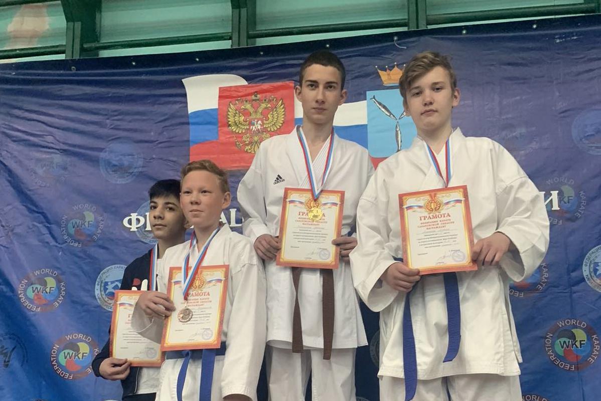 Юные каратисты из Петровска — призёры выездных соревнований