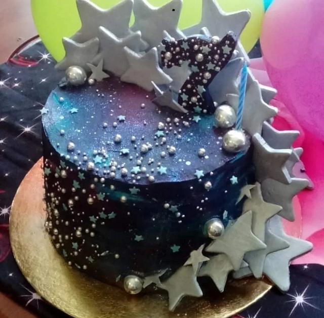 """Торт """"Космос"""" со сливочно-творожным кремом"""