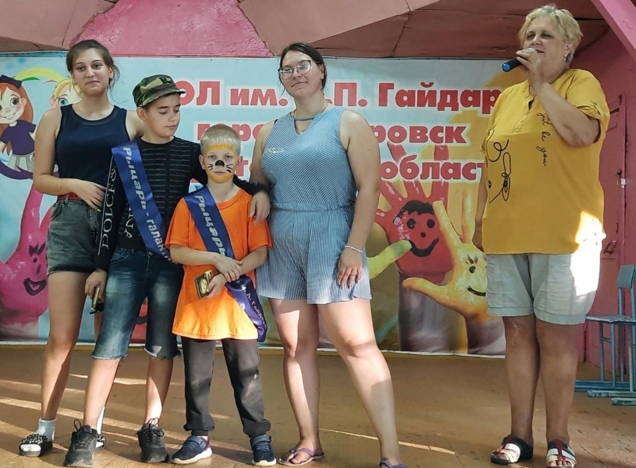В детском лагере имени Аркадия Гайдара продолжается третья смена