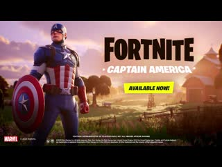 Fortnite - Captain America Outfit   PS4