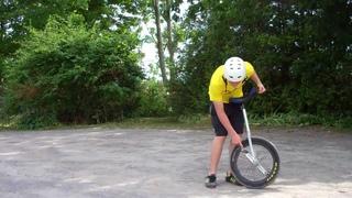 How to Ride a Unicycle (Part 3) #Уницикл #УнициклОбучение