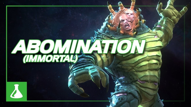 Immortal Abomination Special Moves | Marvel Contest of Champions