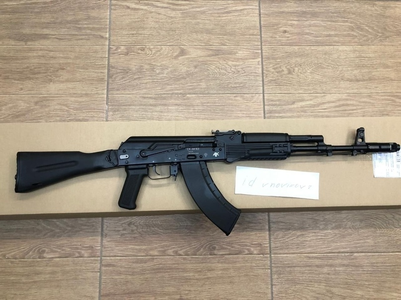 Продаю АК-103 (Охолощенный!!!) Состояние   Объявления Орска и Новотроицка №9950