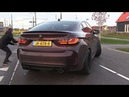 BMW X6M with Decatted Fi Exhaust - Start, LOUD Revs Accelerations!