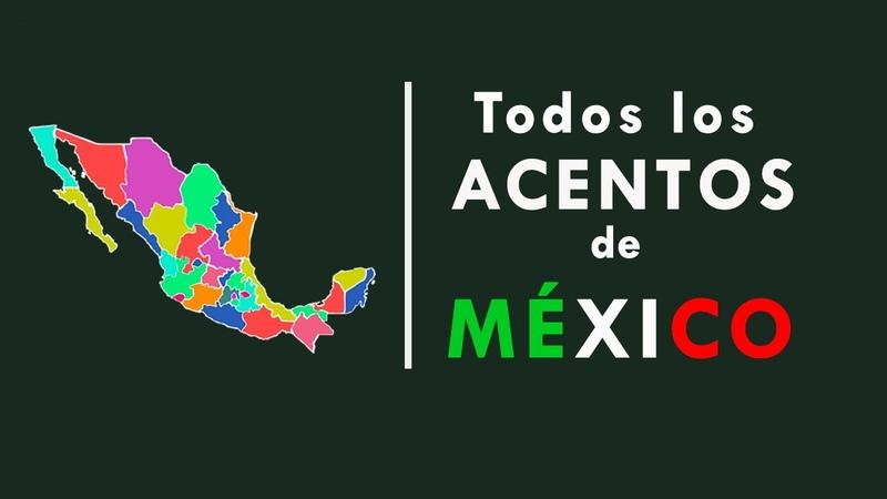 TODOS los ACENTOS de MÉXICO 💚¿ᴄᴏɴᴏᴄᴇꜱ ᴛᴏᴅᴏꜱ acentos de las 32 entidades federativas