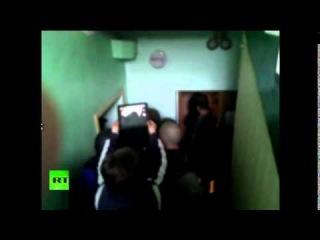Сторонники федерализации Украины взяли под контроль отдел милиции в Горловке