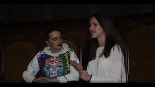 """Юлия Хлынина - интервью после спектакля """"Варшавская Мелодия"""" в Самаре."""