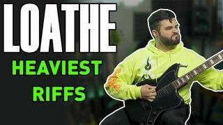 LOATHE Heaviest Guitar Riffs (Baritone Guitar)