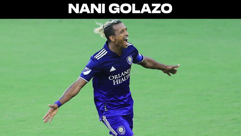 GOLAZO Nani with an Amazing Curler for Orlando City SC