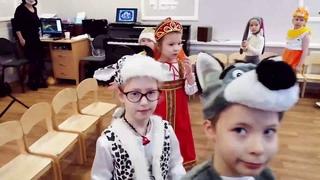 Новогодний Утренник в детском саду. 2 камеры: штатив + стаб в руках.