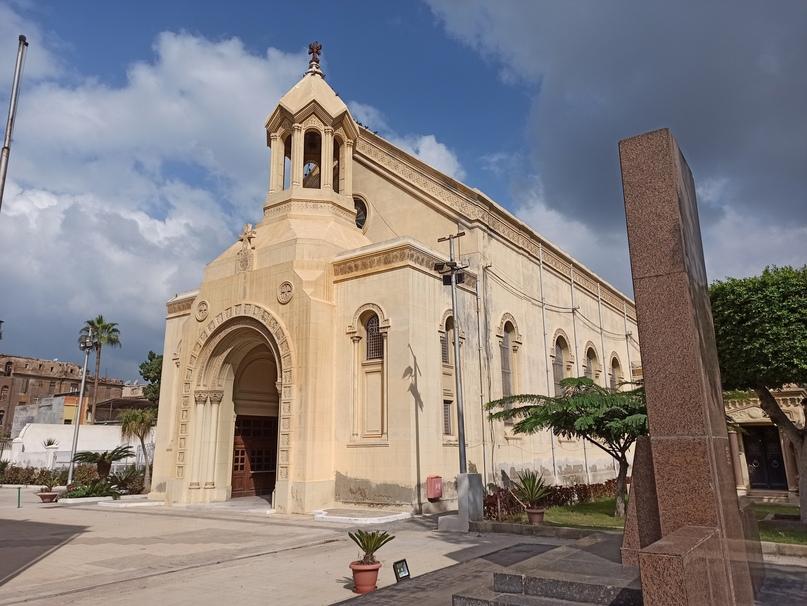 Армянская церковь Александрии
