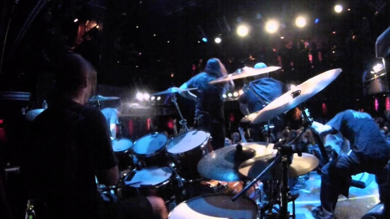 Suffocation Funeral Inception Pro Sound! Kevin Talley drum cam