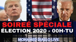 MDL REPORT(13)- USA ÉLECTIONS 2020- TRUMP OU BIDEN -LES 2 CAMPS SE PRÉPARENT! Mohamed Diallo Live