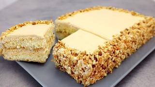 30 minuti e la deliziosa torta è pronta! Torta delicata con crema al caramello # 272