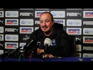 Benitez's pre-reading media briefing
