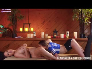 [TeamSkeet] Krissy Lynn, Kyler Quinn [Лесбиянк Лесби lesbian лижу куни порн девочк Секс Sex Молод Сиськ teen Porn Киск porno pus