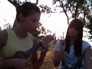 "CORNER OF THE EARTH on ukulele&""egg"""